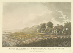 Part of Chale Bay, from the extremity of the village of Chale